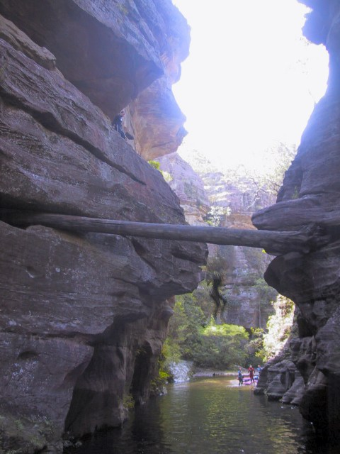 Wollangambe 2 Canyon Ozultimate Com Canyoning