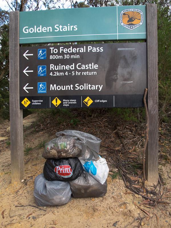 Mt Solitary Cleanup Ozultimate Com Bushwalking
